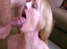 Son Big Cumshot On Mother