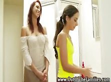 Step Mom Slut Teaches Her New Daughter