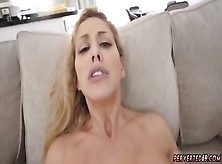 Mom Watches Ally Playmate S Brother And Companion S Sister Cherie Deville In