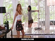 Badmilfs – Step-Mom Jacks Off And Fucks Step-Son
