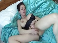 Kelly Hart Masturbates In Juicy Pussy And Massages Her Tits